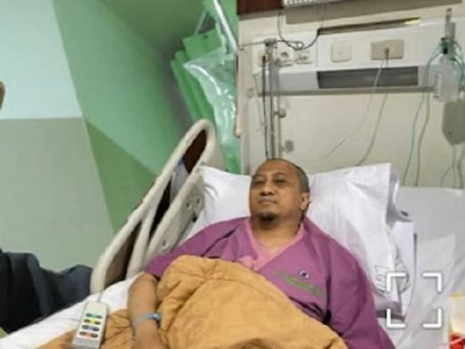 Yusuf Mansur Dilarikan ke Rumah Sakit RSPAD Gatot Subroto