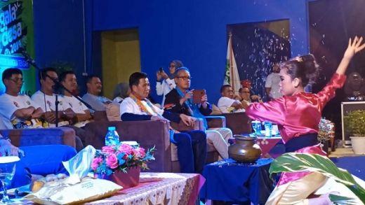 Raden Isnanta Sebut Pembukaan Gala Desa di Bangka Tengah Spektakuler