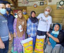 Bamsoet Berikan Bantuan Kepada Warga Desa Way Kepayang dan Desa Kedondong Lampung