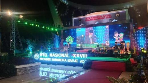 MTQ Nasional ke-28, Sumatra Barat Juara Umum, Riau Peringkat Delapan