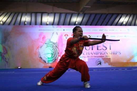 Perguruan Wushu Rajawali Sakti Berpeluang Raih Gelar Juara Umum