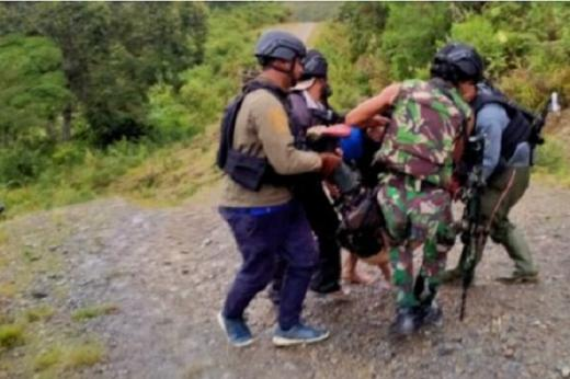 Lagi, Satu Prajurit Gugur Ditembak KKB di Intan Jaya