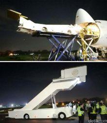 2 Tangga Pesawat Didatangkan dari Saudi Arabia, Khusus untuk Sambut Raja Salman