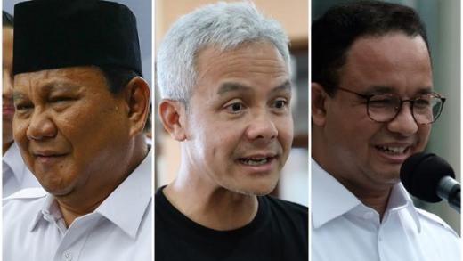 Survei Pilpres Parameter: Prabowo, Anies dan Ganjar Bersaing Ketat, Moeldoko Posisi Buncit