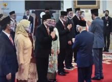 9 Anggota Ombudsman RI Periode 2021 - 2026 Dikukuhkan di Istana