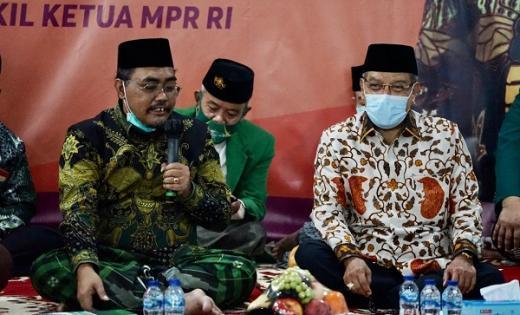 Jelang Konferwil NU DKI Jakarta, Gus Jazil Didoakan Kiai Said
