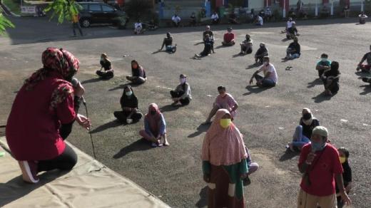 Jelang Lebaran, 164 Pemudik Masih Jalani Karantina di GOR Banyumas