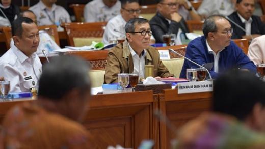 Soal Pemindahan Habib Bahar ke Nusakambangan, DPR Cecar Yasonna