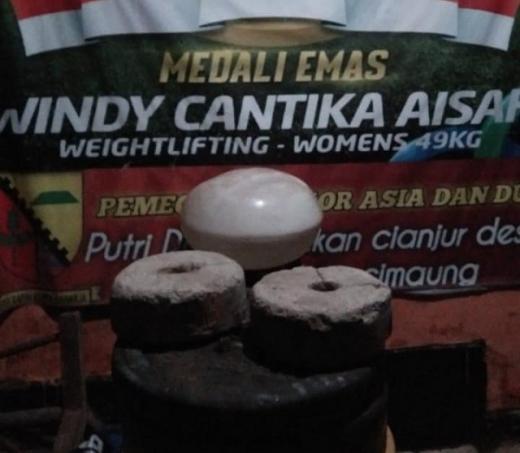 Cantika Masuk Kontingen Indonesia, Siti Aisah Teringat Barbel Semen