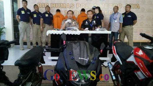 Pelaku Curanmor yang Ditangkap Polda Metro, Ternyata Satunya Residivis Asal Lampung