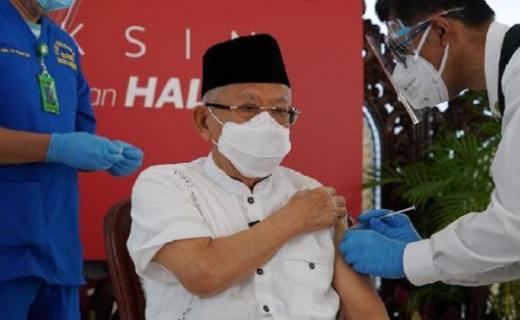 Kata Maruf Amin, Tes Antigen Jangan Kebanyakan, Positivity Rate Jadi Sangat Rendah