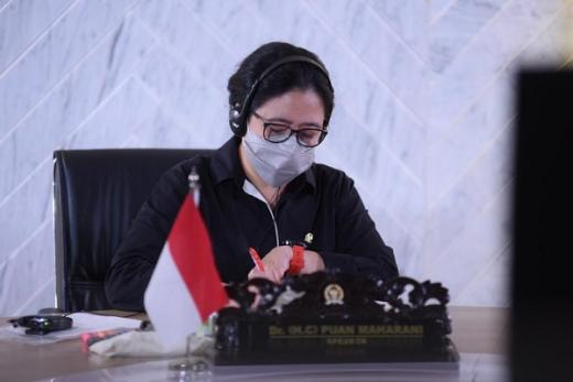 GoNews Ketua DPR RI, Puan Maharani. (