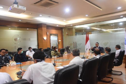 Terima Kunjungan Unasman Sulbar, BP2MI Jajaki Peluang Riset Pekerja Migran Indonesia