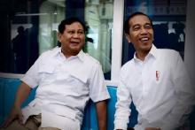 Peluang Duet Jokowi-Prabowo, GG: Presiden Harus Tegas Tolak Jabatan 3 Periode