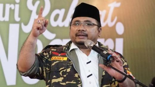 Wow... Ketum GP Ansor Yaqut Cholil Qoumas Diangkat Jokowi Jadi Menag