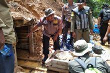 Pasca Banjir Bandang di Lebak, Puluhan Lubang Tambang Emas Disegel Polisi