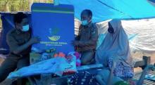 Bocah Kelainan Tulang Belakang Penyintas Gempa Majene Dapat Kursi Roda