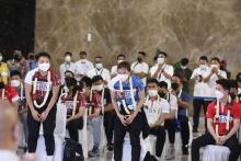 Menpora dan Kapolri Sambut Kedatangan Timnas Bulutangkis Indonesia