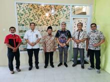 Sambangi PDM Pekanbaru, Irvan Herman: PAN Lahir dari Rahim Muhamadiyah