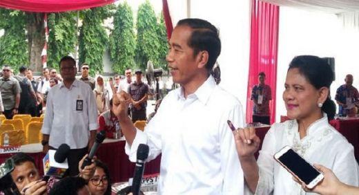 Waduh... Ternyata Jokowi Kalah di 8 TPS Kompleks Paspampres