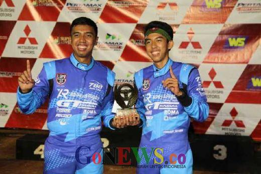 Rahasia Jeje Raih Podium Juara Kejurnas Sprint Rally 2017 Putaran 2