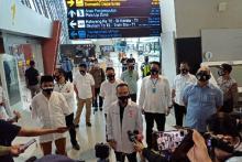 Sidak Bandara, Satgas Covid-19 DPR Apresiasi Pengelola