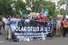 Pemerintah dan Legislator Papua soal Keamanan dan Pembangunan
