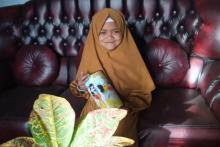 Kisah Hani, Bocah SD Asal Solok yang Ikut Berkurban dengan Uang Tabungan Sendiri
