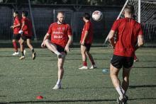 Jaga Kondisi Pemain Bali United FC, Teco Berikan Latihan Fisik