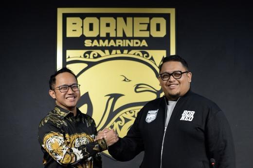 Borneo FC Gandeng CRK Corporation