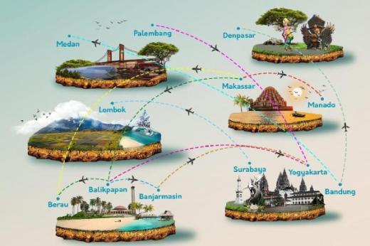 Pastikan Seluruh Bangsa Terhubung, Garuda Buka 11 Rute Baru