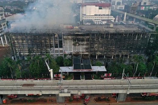 DPR Desak Polisi Selidiki Penyebab Kebakaran Kantor Kejagung