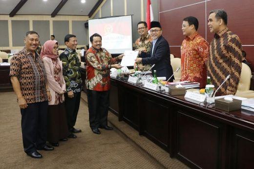 Rapat Gabungan Sepakati Perubahan Tata Tertib Pemilihan 10 Pimpinan MPR