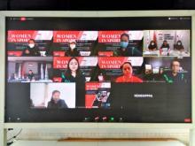 NOC Indonesia Dorong Kesetaraan Gender Lewat Webinar