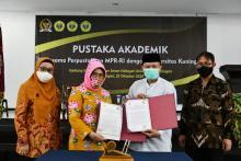 Perpustakaan MPR Jalin Kerjasama dengan Universitas Kuningan