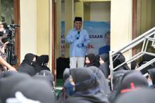 Sjarief Hasan: Pesantren Adalah Tempat Belajar Calon Pemimpin Bangsa.