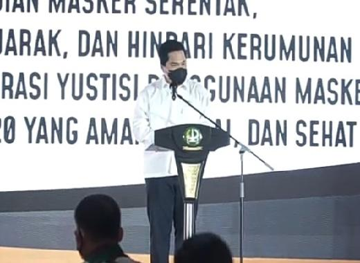 Erick Thohir Jabat Ketua MES Periode 2021-2024