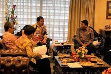 Wakil Ketua DPD Bahas Tindak Lanjut Kebijakan Terkait Alokasi Anggaran Untuk Kelurahan dengan Pemerintah