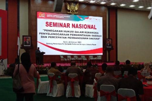 Dukung Penyelenggaraan Negara yang Majukan Daerah, DPD RI Gelar Seminar Pencegahan Korupsi