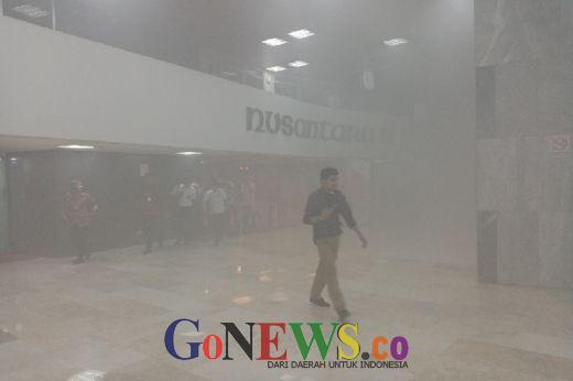 Kebakaran Terjadi di Gedung DPR RI