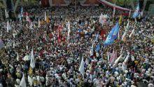 Bak Semut, Ini Penampakan Puluhan Ribu Pendukung Prabowo di Makassar