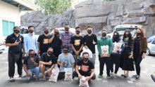 Borneo FC Bagi-bagi Sembako, Nabil: Semoga Berkah