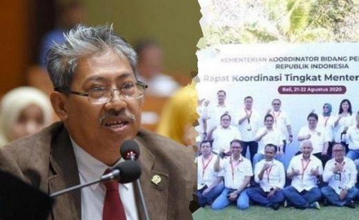 PKS Soroti Foto Menteri-menteri Tak Pakai Masker: Perilaku Pimpinannya Sebagai Rujukan