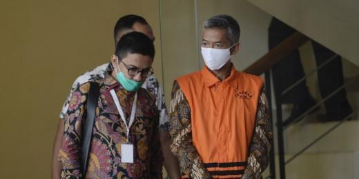 Mantan Anggota KPU Wahyu Setiawan Divonis 6 Tahun Penjara