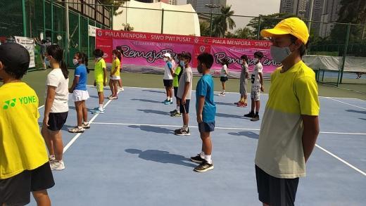 Kejurnas Remaja Tenis Piala Menpora-SIWO PWI Pusat Digelar