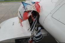 Roda Citilink Tersangkut Layang-layang, Pesawat masih Layak Terbang