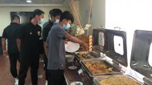 Timnas U 16 Lakukan Penyesuaian Makanan Timur Tengah