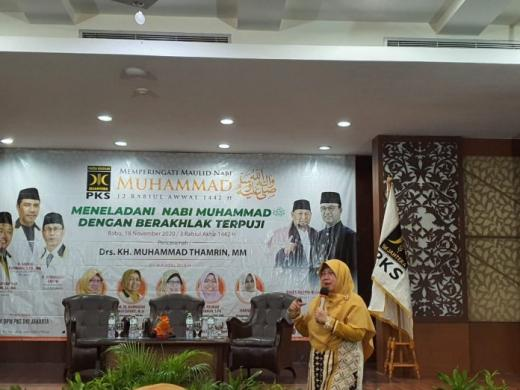 Legislator Ini Ajak Tokoh dan Ustazah di Jakarta Berjuang Bersama