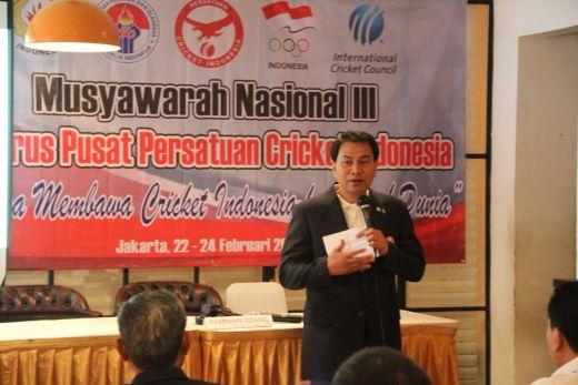 Terpilih Kembali Pimpin PP PCI, Aziz Syamsuddin Semakin Termotivasi Catat Prestasi