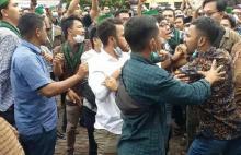 Kongres HMI di Surabaya Diwarnai Baku Pukul Antar Pendukung Calon Ketum